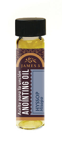 James 5 Hyssop Anointing Oil - 1/4 oz.