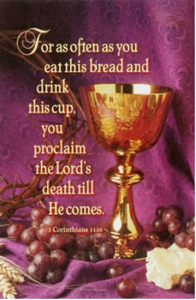 For As Often As You Drink This Cup...1 Cor 11:26 (NKJV) Bulletin Regular (Package of 100)