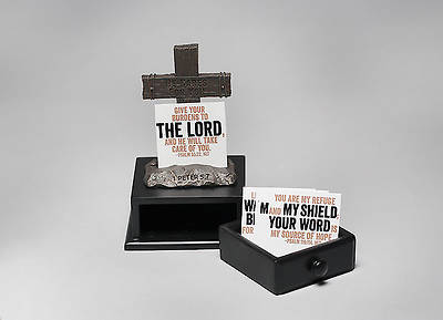 At the Cross Prayer Box and Scripture Card Holder