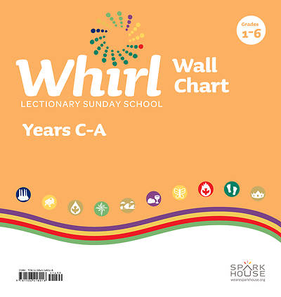 Whirl Lectionary Wall Chart Fall C through Summer A