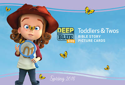 Deep Blue Kids Toddlers & Twos Bible Story Picture Cards Spring 2018