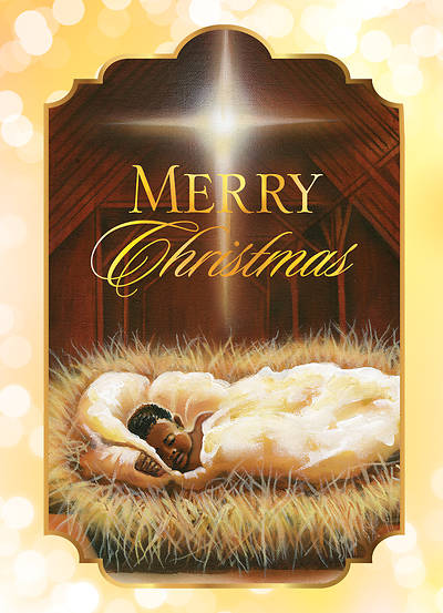 Merry Christmas Baby Jesus Boxed Cards - Box of 15