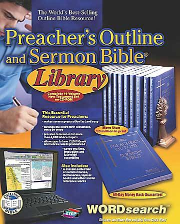 Wordsearch™ Preachers Outline and Sermon Bible