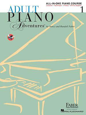 Adult Piano Adventures All-In-One Lesson Book 1; A Comprehensive Piano Course
