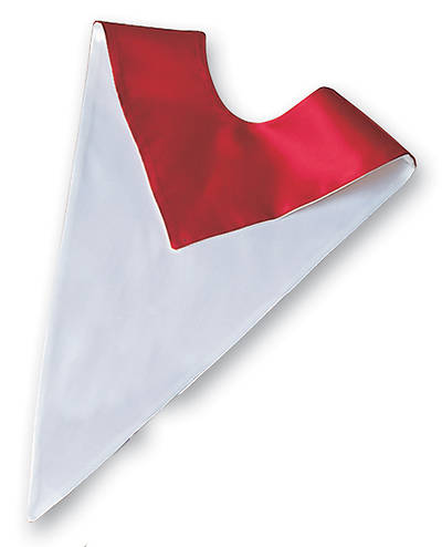 Murphy Qwick-Ship Red/White Reversible Liturgical Choir Stole