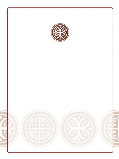 Celtic Cross Bookplate (Pack of 15)