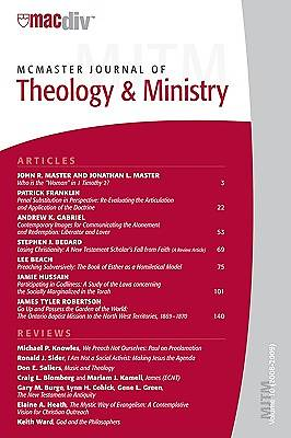 McMaster Journal of Theology and Ministry, Volume 10