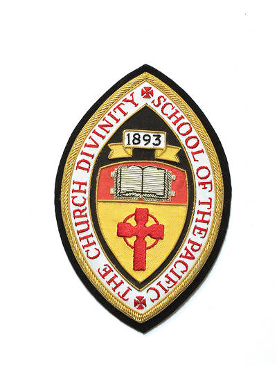Hand Embroidered Seminary Seal Church Divinity School of the Pacific