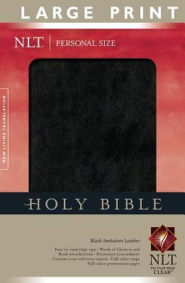 Personal Size Large Print Bible-New Living Translation