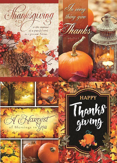 Harvest Thanksgiving Boxed Cards