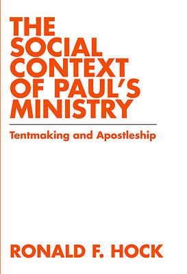 The Social Context of Pauls Ministry