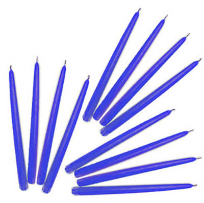 Emkay Blue All Occasion Taper Candles - 12