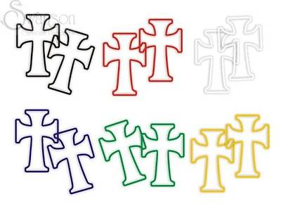 Plan of Salvation Crosses Faith Bands Package of 12