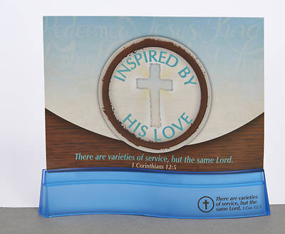 Christ-Centered Service Photo Stand