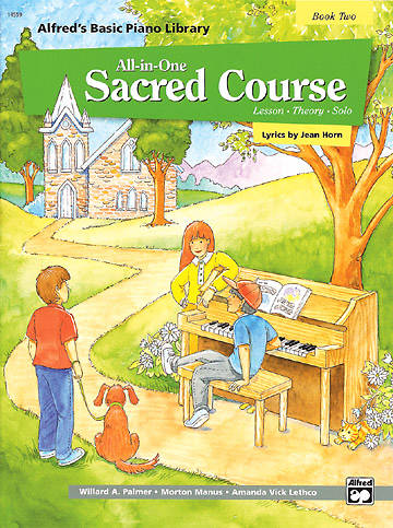 Alfreds All-in-One Sacred Course For Children Book 2