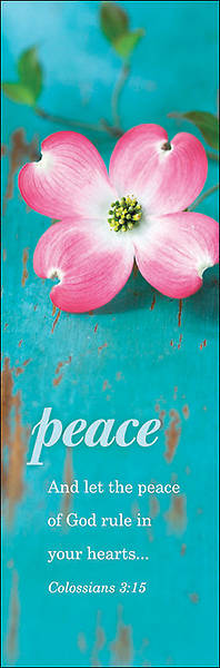 Peace Bookmark - Pack of 25