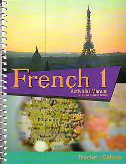 French 1 Teacher Activity Manual 2nd Edition