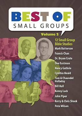 Best of Small Groups - Volume 2 Study Pack