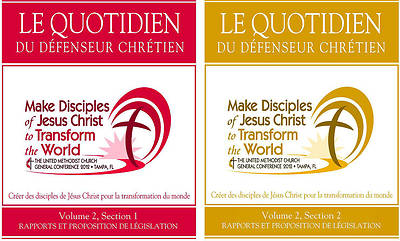 2012 Daily Christian Advocate Volume 2, Sections 1 & 2, Reports & Petitions - French