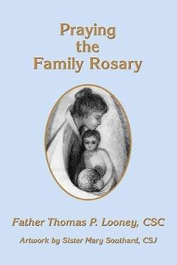 family praying the rosary - 250×374