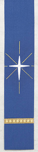 Word Series Blue Advent Bookmark