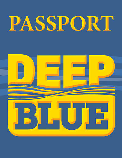 Deep Blue Learn & Serve - Passports and Stickers (Pkg of 6)
