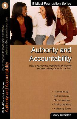 Authority and Accountability