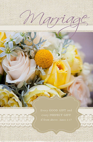 Wedding Bulletin - James 1:17 Every Good Gift (Pack of 100)