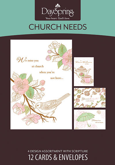 Send a Blessing - Church Needs Boxed Cards - Box of 12