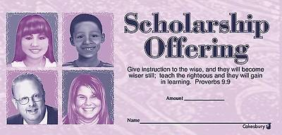 Scholarship Offering Envelope (Package of 100)