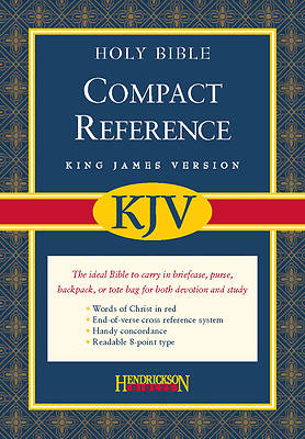 Compact Reference Bible-KJV-Magnetic Closure