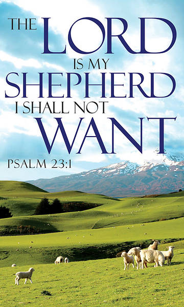 Words of Hope Series The Lord is My Shepherd Banner 3 x 5