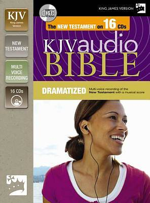 King James Version New Testament on CD