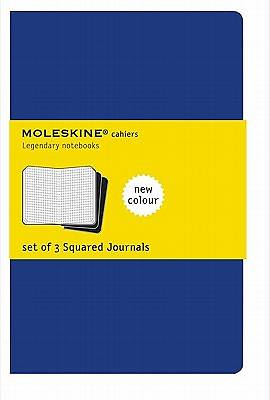 Journal Moleskine Cahier Squared Blue Extra Large