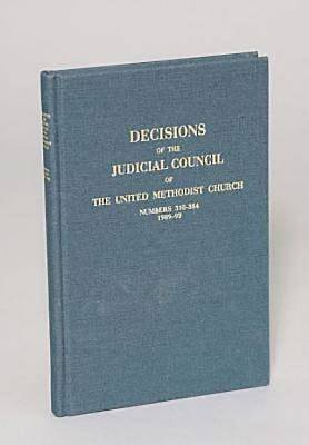 Decisions of the Judicial Council of The United Methodist Church, 1989-1992, 610-684