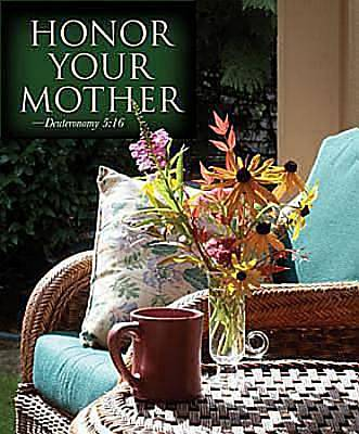 Chair Mothers Day Bulletin 2012, Large Size (Package of 50)