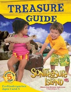 Gospel Light VBS 2014 SonTreasure Island Treasure Guide Pre-K