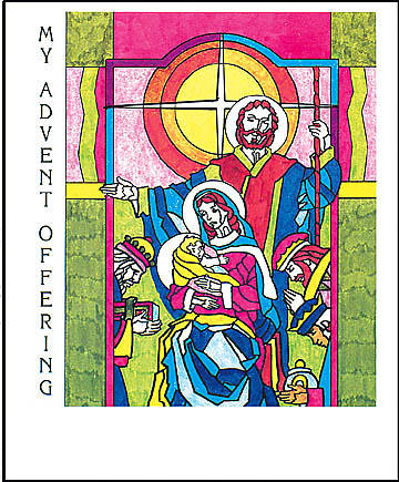 """Behold, Your Infant King!"" $10 Advent Coin Folder (Package of 50)"
