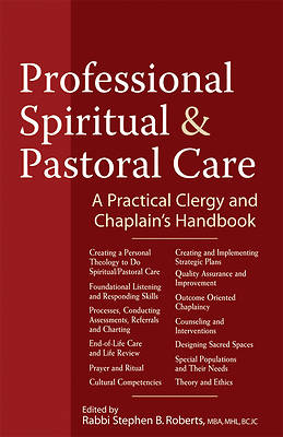 Professional Pastoral and Spiritual Care