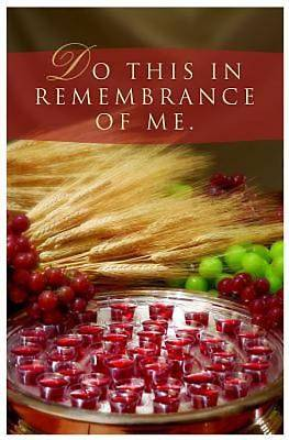 Do This/Communion Bulletin, Regular Size (Package of 50)