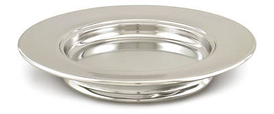 Bio-Khrome Communionware Stacking Bread Plate