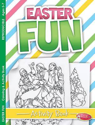 Easter Coloring & Activity Book - Easter Fun (5-7)