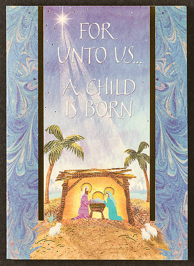 For Unto Us a Child is Born Boxed Cards