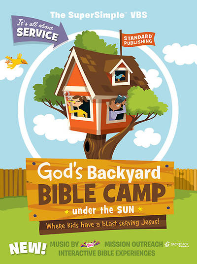 Standard Vacation Bible School 2013 God's Backyard Bible Camp Under the Sun Starter Kit with Cooper Puppet