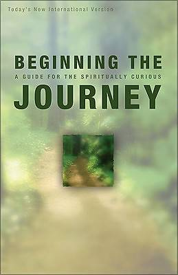 Beginning The Journey Todays New International Version Bible