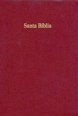 Bible Spanish Large Print Burgundy