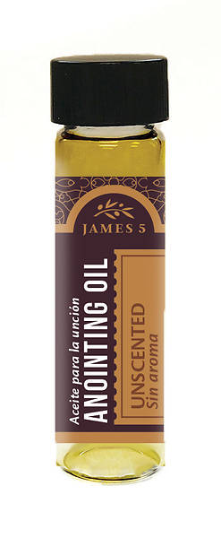James 5 Unscented Anointing Oil - 1/2 oz.