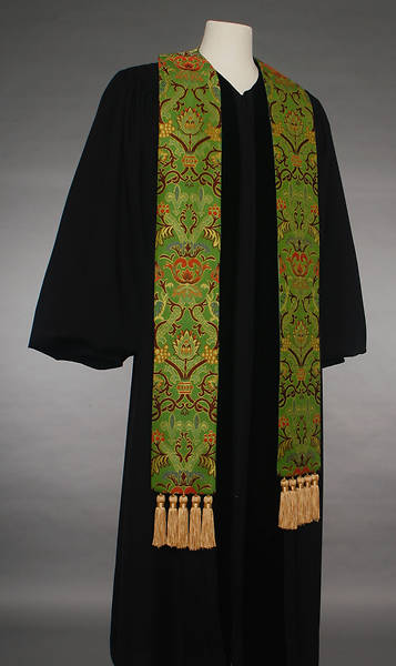 Coronation Tapestry 70 Series Green Stole