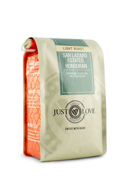 Just Love San Lazaro Estates Honduran Light Roast Ground Coffee