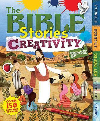 The Bible Stories Creativity Book [With Stencils and Art Paper]